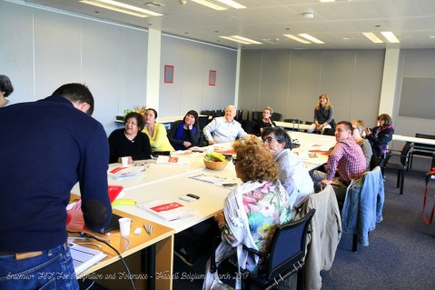 Erasmus+ FIT For Integration and Tolerance - Hasselt Belgium - march 2017 (53)