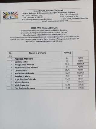 Selecție participanți mobilități (2)